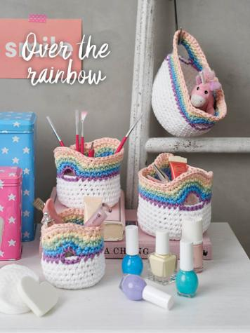 Häkelanleitung - Over the rainbow - Best of Simply Häkeln Home-Deko 03/2019