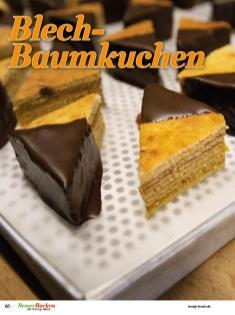 Rezept - Blech-Baumkuchen - Simply Backen Plätzchen backen mit Tommy Weinz 04/2019