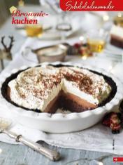 Rezept - Browniekuchen - Simply Backen Special Weihnachtskuchen