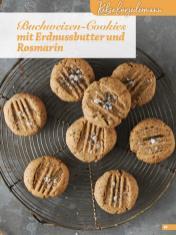 Rezept - Buchweizen-Cookies mit Erdnussbutter und Rosmarin - Simply Kreativ Glutenfrei Weihnachtsbacken – 01/2019