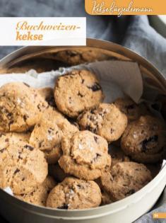 Rezept - Buchweizenkekse - Simply Kreativ Glutenfrei Weihnachtsbacken – 01/2019