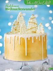 Rezept - Goldenes Weihnachtswunder - Simply Backen Special Weihnachtskuchen