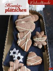 Rezept - Honigplätzchen - Simply Kreativ Glutenfrei Weihnachtsbacken – 01/2019