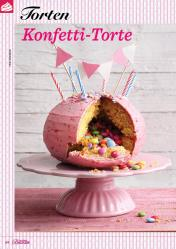 Rezept - Konfetti-Torte - Das große Backen 06/2019