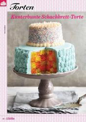Rezept - Kunterbunte Schachbrett-Torte - Das große Backen 06/2019