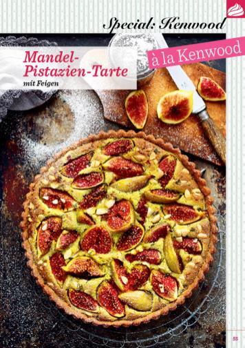 Rezept - Mandel-Pistazien-Tarte mit Feigen - Das große Backen 06/2019