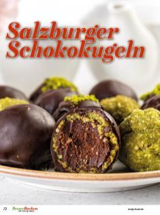 Rezept - Salzburger Schokokugeln - Simply Backen Plätzchen backen mit Tommy Weinz 04/2019