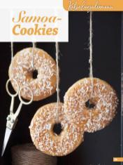 Rezept - Samoa-Cookies - Simply Kreativ Glutenfrei Weihnachtsbacken – 01/2019