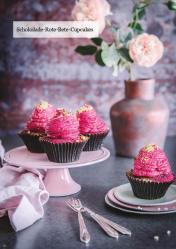 Rezept - Schokolade-Rote-Bete-Cupcakes - Healthy Vegan 06/2019