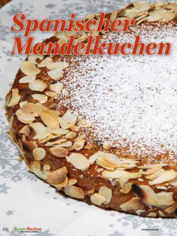 Rezept - Spanischer Mandelkuchen - Simply Backen Plätzchen backen mit Tommy Weinz 04/2019