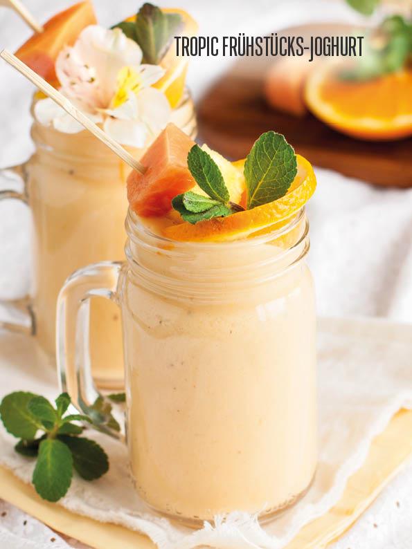 Rezept - Tropic Frühstücks-Joghurt - Bewusst Low Carb – 06/2019