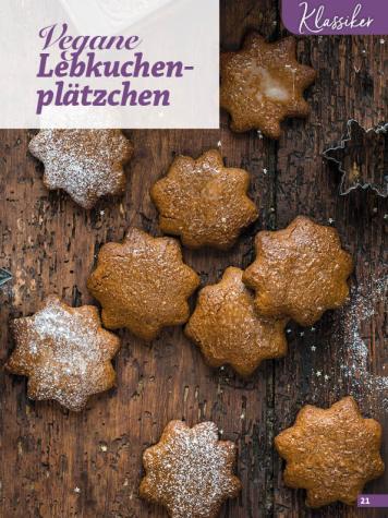 Rezept - Vegane Lebkuchenplätzchen - Simply Kreativ Glutenfrei Weihnachtsbacken – 01/2019