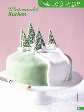 Rezept - Winterwald-Kuchen - Simply Backen Special Weihnachtskuchen