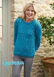 Strickanleitung - Aquamarin - Simply Stricken 06/2019
