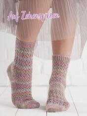 Strickanleitung - Auf Zehenspitzen - Simply Kreativ – Best of Simply Stricken Socken