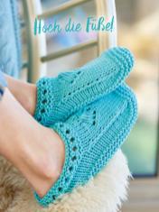 Strickanleitung - Hoch die Füße - Simply Kreativ – Best of Simply Stricken Socken