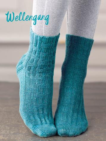 Strickanleitung - Wellengang - Simply Kreativ – Best of Simply Stricken Socken