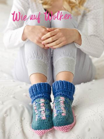 Strickanleitung - Wie auf Wolken - Simply Kreativ – Best of Simply Stricken Socken
