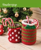 Häkelanleitung - Glasüberzüge - Mini Häkeln Weihnachts-Ideen Vol. 11