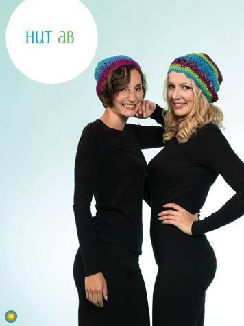 Häkelanleitung - Hut ab - Simply Kreativ Häkeln mit Farbverlaufs-Bobbeln Vol. 4 Heft 04/2019