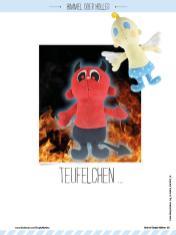 Nähanleitung - Teufelchen - Best of Simply Nähen Kuscheltiere