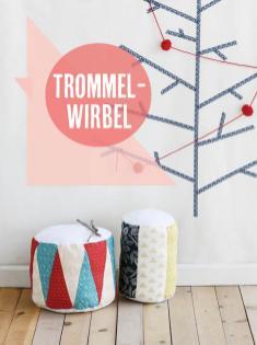 Nähanleitung - Trommel-Wirbel - Best of Simply Nähen Home-Deko & Accessoires