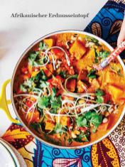 Rezept - Afrikanischer Erdnusseintopf - Healthy Vegan Sonderheft - Vegan Jahrbuch