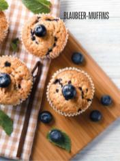 Rezept - Blaubeer-Muffins - Bewusst Low Carb Sonderheft – 03/2019