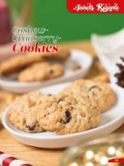 Rezept - Cashew-Cranberry-Cookies - Simply Backen Sonderheft Weihnachtsbacken mit Janet & Jasmin 01/2019