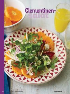 Rezept - Clementinen-Salat - Simply Kochen Weihnachts-Menü – 05/2019
