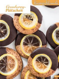 Rezept - Cranberry-Plätzchen - Weihnachtsbäckerei 01/2019