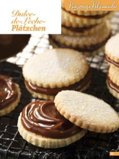 Rezept - Dulce-de-Leche-Plätzchen - Weihnachtsbäckerei 01/2019