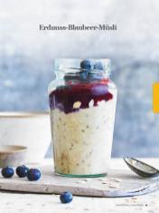 Rezept - Erdnuss-Blaubeer-Müsli - Healthy Vegan Sonderheft - Vegan Jahrbuch