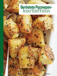 Rezept - Geröstete Parmesankartoffeln - Simply Kochen Weihnachts-Menü – 05/2019