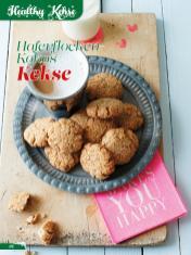 Rezept - Haferflocken-Kokos-Kekse - Simply Backen Sonderheft Weihnachtsbacken mit Janet & Jasmin 01/2019