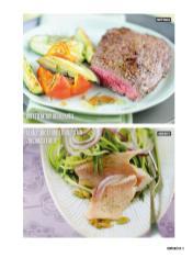Rezept - Hüftsteak mit Ofengemüse & Geräucherte Forellenfilets auf Zucchinistreifen - Bewusst Low Carb Sonderheft: 4 Kilo in 30 Tagen - 01/2020