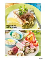 Rezept - Kabeljaufilet mit Spinatfüllung und Avocado-Dip & Brotzeit mit Schwarzwurzelröllchen - Bewusst Low Carb Sonderheft: 4 Kilo in 30 Tagen - 01/2020