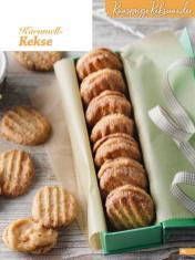 Rezept - Karamell-Kekse - Weihnachtsbäckerei 01/2019