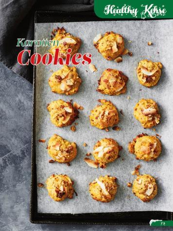 Rezept - Karotten-Cookies - Simply Backen Sonderheft Weihnachtsbacken mit Janet & Jasmin 01/2019