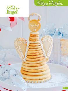 Rezept - Keks-Engel - Weihnachtsbäckerei 01/2019