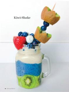Rezept - Kiwi-Shake - Healthy Vegan Sonderheft - Vegan Jahrbuch
