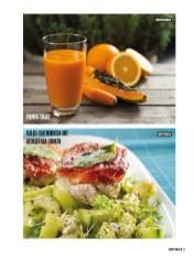 Rezept - Papaya-Shake & Kalbs-Saltimbocca mit gebratenen Gurken - Bewusst Low Carb Sonderheft: 4 Kilo in 30 Tagen - 01/2020