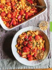 Rezept - Paprika-Tomaten und karamellisierte Zwiebeln mit weißen Bohnen - Healthy Vegan Sonderheft - Vegan Jahrbuch