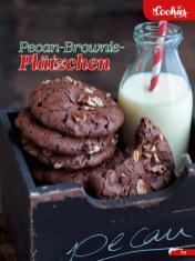 Rezept - Pecan-Brownie-Plätzchen - Simply Backen Sonderheft Weihnachtsbacken mit Janet & Jasmin 01/2019