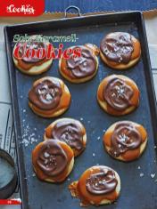 Rezept - Salz-Karamell-Cookies - Simply Backen Sonderheft Weihnachtsbacken mit Janet & Jasmin 01/2019