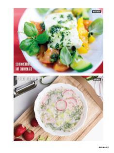 Rezept - Schmorgemüse mit Schafskäse & Radieschen-Gurken-Suppe - Bewusst Low Carb Sonderheft: 4 Kilo in 30 Tagen - 01/2020