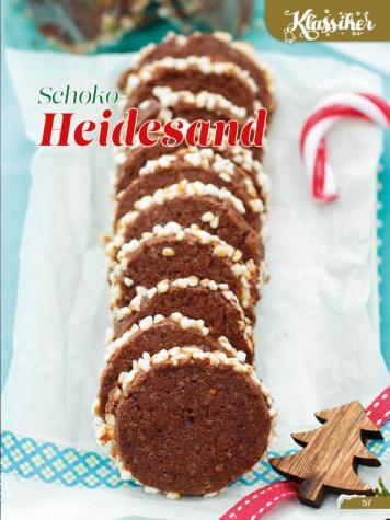Rezept - Schoko-Heidesand - Simply Backen Sonderheft Weihnachtsbacken mit Janet & Jasmin 01/2019