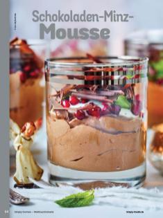Rezept - Schokoladen-Minz-Mousse - Simply Kochen Weihnachts-Menü – 05/2019