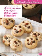 Rezept - Schokoladen-Orangen-Pekannuss-Plätzchen - Weihnachtsbäckerei 01/2019