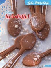 Rezept - Süße Kekslöffel - Simply Backen Sonderheft Weihnachtsbacken mit Janet & Jasmin 01/2019